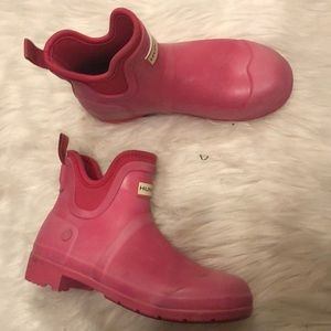 Shoes - Hunter size 7 pink